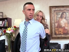 Brazzers - Milfs Like it Big -  This Ones A Keeper scene starring Julia Ann and Keiran Lee